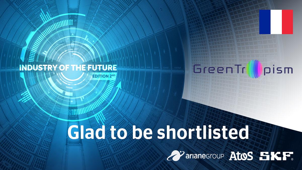 GreenTropism grand gagnant du Challenge Industrie du Futur