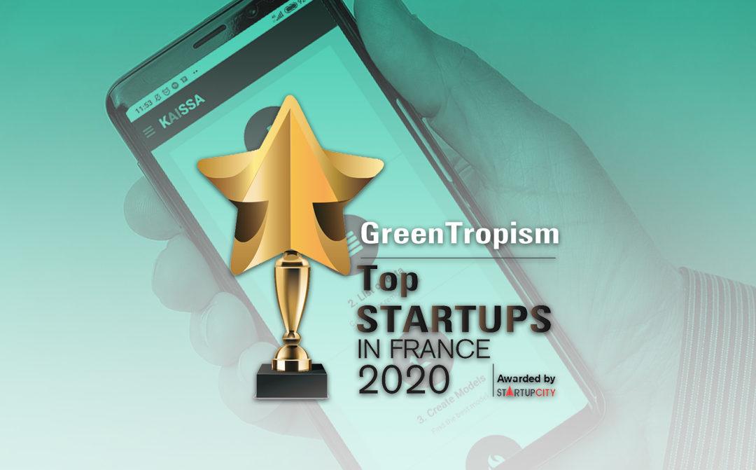 GreenTropism reconnue parmi le Top 10 des Startups en France en 2020